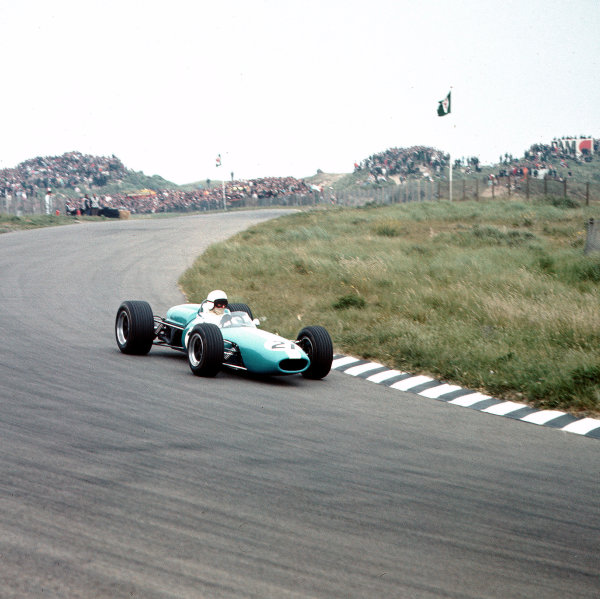 Zandvoort, Holland.2-4 June 1967.Bob Anderson (Brabham BT11 Climax) 9th position.Ref-3/2878.World Copyright - LAT Photographic