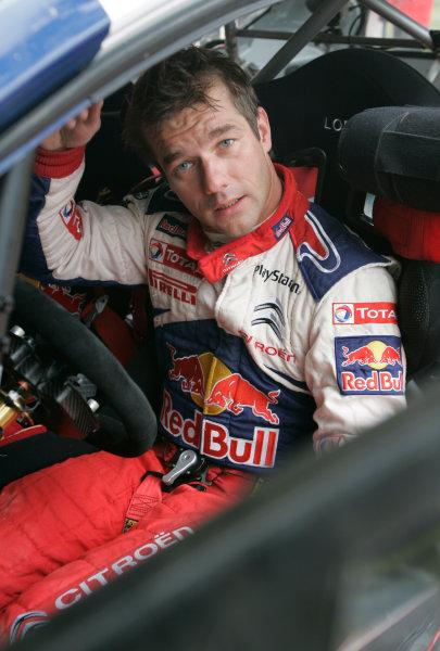 Round 10Rally Australia 3rd-6th September  2009Sebastien Loeb, Citroen WRC, Portrait.Worldwide Copyright: McKlein/LAT