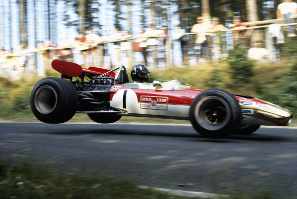 Graham Hill, Lotus 49B Ford.