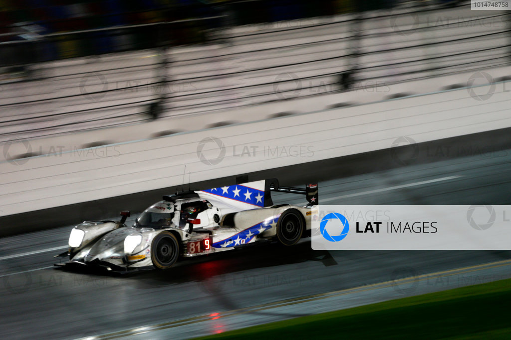 2017 Rolex 24 Hours. Daytona, Florida, USA Sunday 29 January 2017. #81 DragonSpeed ORECA 07: Henrik Hedman, Nicolas Lapierre, Ben Hanley, Loic Duval World Copyright: Alexander Trienitz/LAT Images ref: Digital Image 2017-24h-Daytona-AT1-5013
