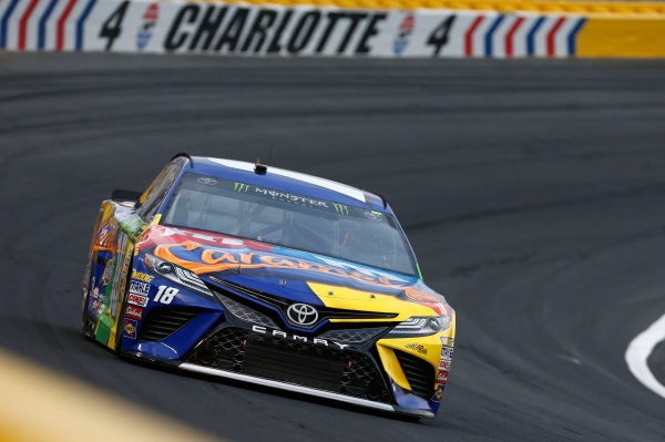 Monster Energy NASCAR Cup Series Monster Energy NASCAR All-Star Race Charlotte Motor Speedway, Concord, NC USA Friday 19 May 2017 Kyle Busch, Joe Gibbs Racing, M&M's Caramel Toyota Camry World Copyright: Matthew T. Thacker LAT Images ref: Digital Image 17CLT1mt1445