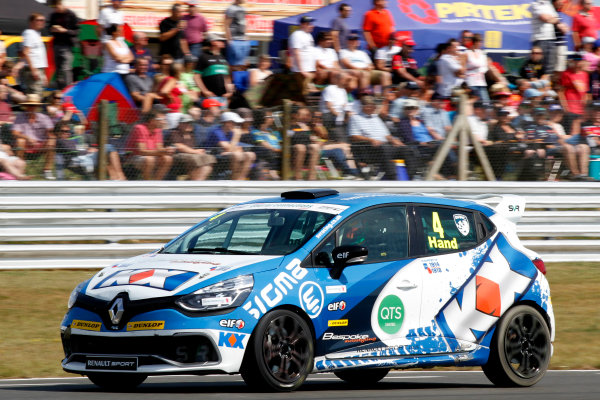 2014 Renault Clio Cup, Snetterton, Norfolk. 1st - 3rd August 2014. Ash Hand (GBR) SV Racing Renault Clio Cup. World Copyright: Ebrey / LAT Photographic.
