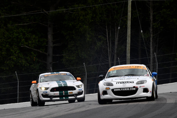 7-9 July 2016, Bowmanville, Ontario Canada  34, Mazda, MX-5, ST, Bob Stretch, 15, Ford, Shelby GT350R-C, GS, Scott Maxwell, Billy Johnson ?2016, Scott R LePage  LAT Photo USA
