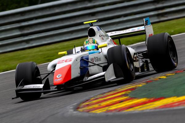 SPA-FRANCORCHAMPS (BEL) May 20-21-2016 - Formula V8 3.5 at Spa-Francorchamps. Beitske Visser #26 Teo Martin Motorsport. Action. ? 2016 Co van der Gragt / Dutch Photo Agency / LAT Photographic