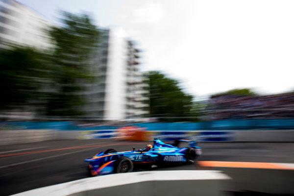 2015/2016 FIA Formula E Championship. Berlin ePrix, Berlin, Germany. Saturday 21 May 2016. Robin Frijns (NLD), Andretti - Spark SRT_01E  Photo: Zak Mauger/LAT/Formula E ref: Digital Image _79P3177