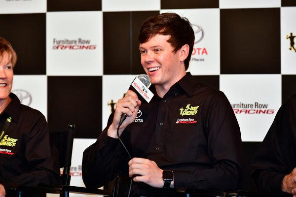 5-7 August, 2016, Watkins Glen, New York USA Furniture Row Racing, Erik Jones press conference ?2016, Logan Whitton  LAT Photo USA