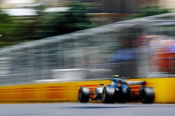 Baku City Circuit, Baku, Azerbaijan. Saturday 24 June 2017. Valtteri Bottas, Mercedes F1 W08 EQ Power+.  World Copyright: Steven Tee/LAT Images ref: Digital Image _R3I2809