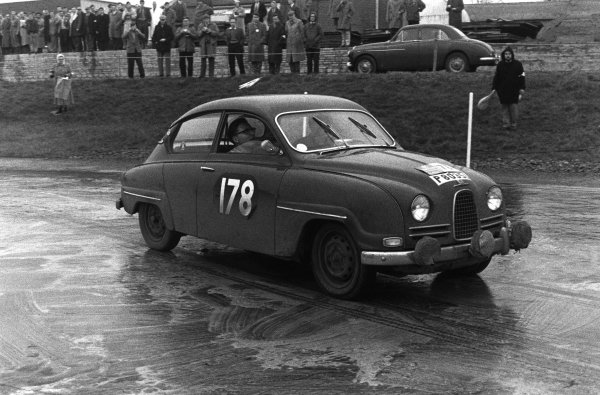 1960 RAC Rally of Great Britain. 