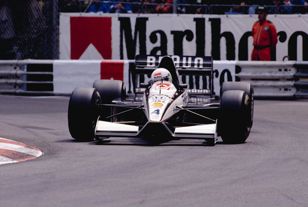 1991 Monaco Grand Prix.Monte Carlo, Monaco. 9-12 May 1991.Stefano Modena (Tyrrell 020 Honda).Ref-91 MON 50.World Copyright - LAT Photographic
