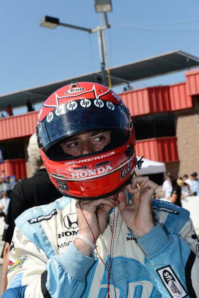 Simon Pagenaud (FRA) Schmidt/Hamilton Motorsports. IndyCar World Series, Rd15, MAVTV 500, Auto Club Speedway, Fontana, California, USA 14-15 September 2012.