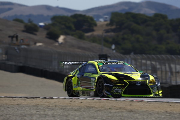 #12: Vasser Sullivan Lexus RC F GT3, GTD: Frankie Montecalvo, Zach Veach