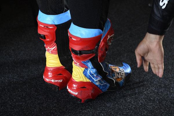 Jorge Navarro, Speed Up Racing, boots