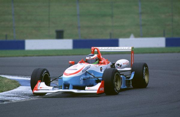 British Formula ThreeDonington, England. 1st - 2nd July 2000. Rd 7&8.Gianmaria Bruni, 2nd position Race 1, 4th Race 2.World - Peter Spinney/ LAT Photographic