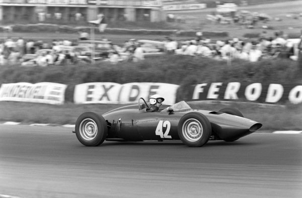 Tony Brooks, BRM P48/57 Climax.