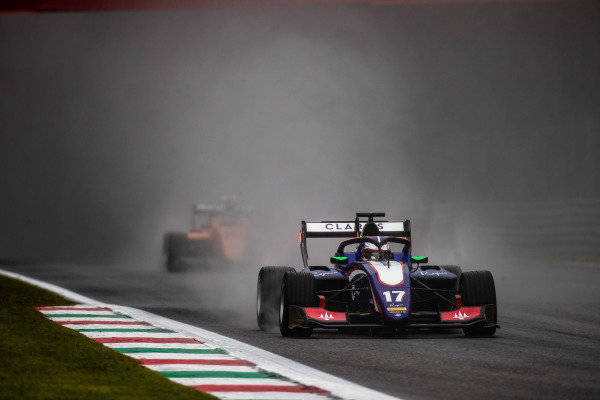 AUTODROMO NAZIONALE MONZA, ITALY - SEPTEMBER 06: Devlin DeFrancesco (CAN, Trident) during the Monza at Autodromo Nazionale Monza on September 06, 2019 in Autodromo Nazionale Monza, Italy. (Photo by Joe Portlock / LAT Images / FIA F3 Championship)