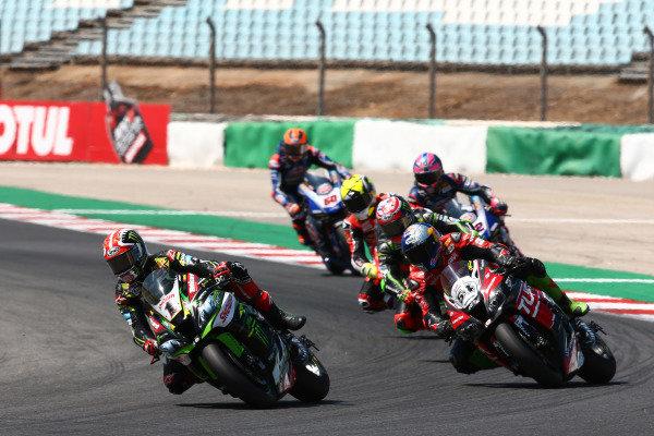 Jonathan Rea, Kawasaki Racing Team, Toprak Razgatlioglu, Turkish Puccetti Racing.