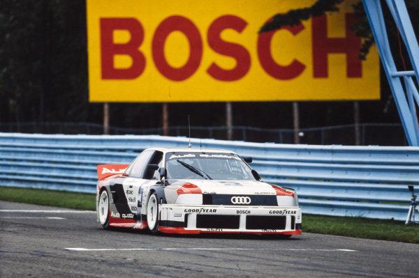 Hurley Haywood, Audi 90 quattro.