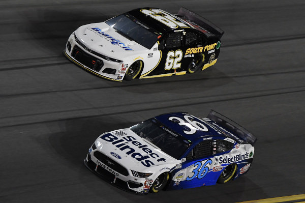 #36: David Ragan, Rick Ware Racing, Ford Mustang Select Blinds, #62: Brendan Gaughan, Beard Motorsports, Chevrolet Camaro South Point