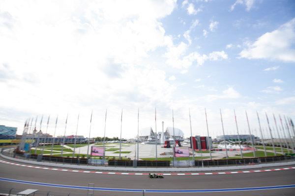 SOCHI AUTODROM, RUSSIAN FEDERATION - SEPTEMBER 27: Teppei Natori (JPN, Carlin Buzz Racing) during the Sochi at Sochi Autodrom on September 27, 2019 in Sochi Autodrom, Russian Federation. (Photo by Joe Portlock / LAT Images / FIA F3 Championship)