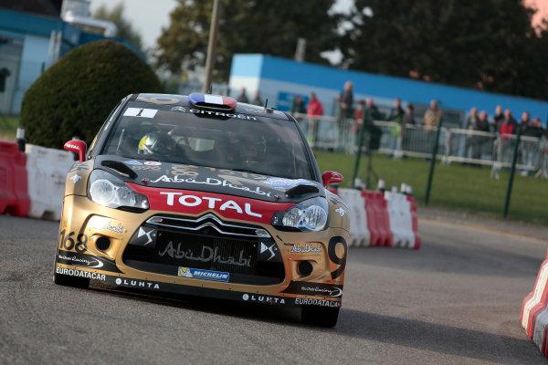 2013 FIA World Rally Championship Round 11-Rally de France 03-06/9 2013. Sebastien Loeb, Citroen, Action  Worldwide Copyright: McKlein/LAT