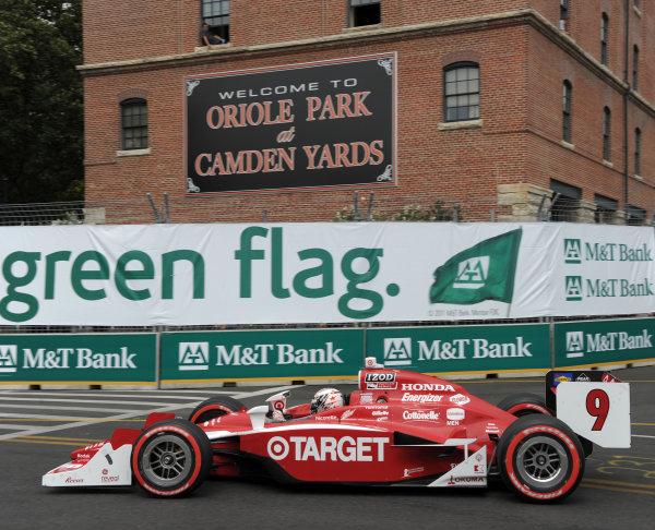 2-4 September, 2011, Baltimore, Maryland USA#9 Target Chip Ganassi Racing's Scott Dixon(c)2011,  Dan R. Boyd  LAT Photo USA