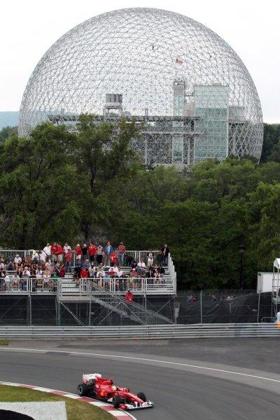 Felipe Massa (BRA) Ferrari F10.Formula One World Championship, Rd 8, Canadian Grand Prix, Practice Day, Montreal, Canada, Friday 11 June 2010.