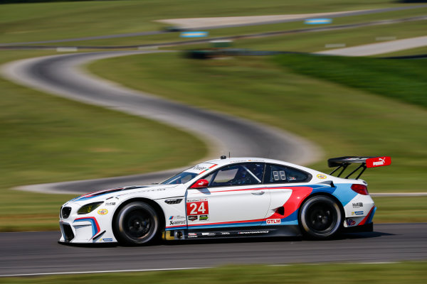 IMSA WeatherTech SportsCar Championship Michelin GT Challenge at VIR Virginia International Raceway, Alton, VA USA Friday 25 August 2017 24, BMW, BMW M6, GTLM, John Edwards, Martin Tomczyk World Copyright: Jake Galstad LAT Images