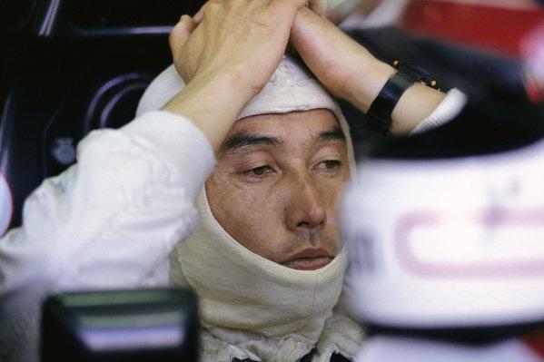 Satoru Nakajima, Tyrrell 020 Honda.