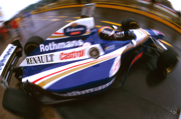 Imola, San Marino.25-27 APRIL 1997.Heinz-Harald Frentzen (Williams FW19 Renault) took his maiden F1 win.Ref-97 SM 05.World  Copyright - LAT Photographic