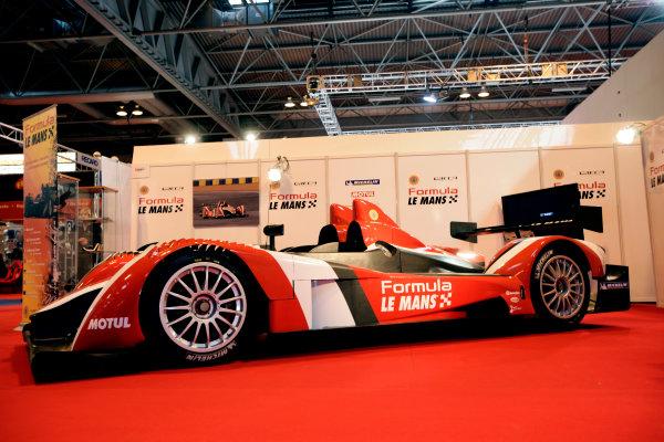 NEC, Birmingham. 8th January 2009.The New ORECA Formula Le Mans LMP2 sportscar is unveiled.World Copyright: Drew Gibson/LAT Photographicref: Digital Image _Y2Z0600