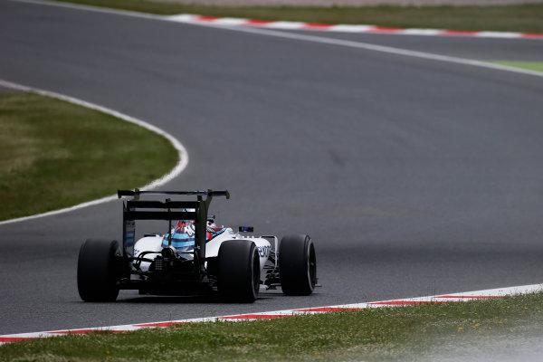 Circuit de Catalunya, Barcelona, Spain. Tuesday 17 May 2016. Alex Lynn, Williams FW38 Mercedes.  Photo: Sam Bloxham/LAT Photographic. ref: Digital Image _L4R2076