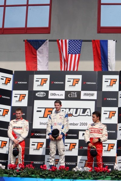 Race 2 podium and results: