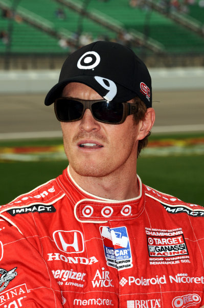 Race winner Scott Dixon (NZL), Target Ganassi Racing.