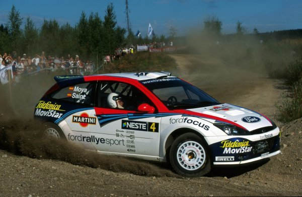 Carlos Sainz (ESP) and Luis Moya (ESP), Ford Focus RS WRC.