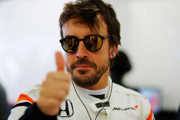 Sochi Autodrom, Sochi, Russia. Friday 28 April 2017. Fernando Alonso, McLaren.  World Copyright: Steven Tee/LAT Images ref: Digital Image _O3I7930