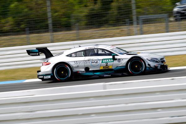 2017 DTM Round 1 Hockenheim, Germany. Friday 5 May 2017. Gary Paffett Mercedes-AMG Team HWA, Mercedes-AMG C63 DTM World Copyright: Alexander Trienitz/LAT Images ref: Digital Image 2017-DTM-R1-HH-AT1-0575