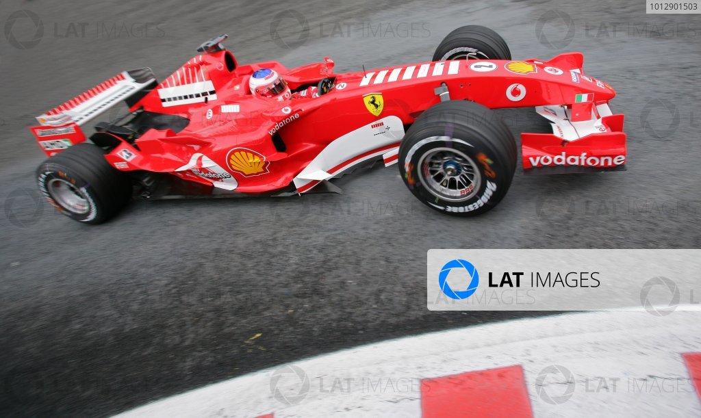 2005 Belgian Grand Prix - Friday Practice,