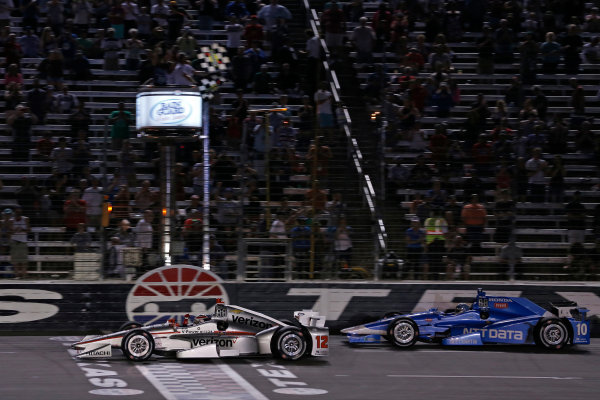Verizon IndyCar Series Rainguard Water Sealers 600 Texas Motor Speedway, Ft. Worth, TX USA Saturday 10 June 2017 Will Power, Team Penske Team Penske Chevrolet, Tony Kanaan, Chip Ganassi Racing Teams Honda World Copyright: Phillip Abbott LAT Images ref: Digital Image abbott_texas_0617_6101