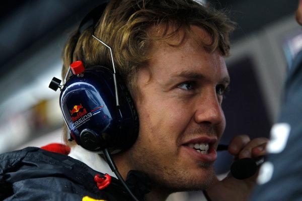 Suzuka Circuit, Suzuka, Japan. 9th October 2010. Sebastian Vettel, Red Bull Racing RB6 Renault. Portrait.  World Copyright: Andrew Ferraro/LAT Photographic ref: Digital Image _Q0C8944