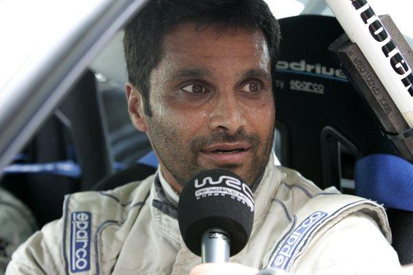 2006 FIA World Rally Champs. Round fifteenNew Zealand Rally.16th-19th November 2006.Nasser Al-Attiyah, Subaru, portrait.World Copyright: McKlein/LAT