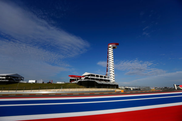 Circuit of the Americas, Austin, Texas, United States of America. Thursday 14th November 2013. The circuit tower World Copyright: Andy Hone/LAT Photographic. ref: Digital Image _ONZ4174