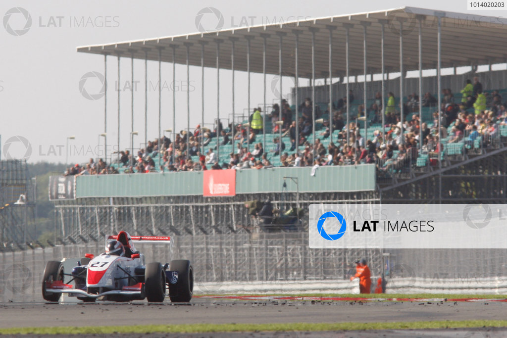 2013 BARC Formula RenaultSilverstone, Northants, 28th-29th Septemver 2013,Atte Lehtonen (FIN) SWB Motorsport Formula RenaultWorld Copyright. Jakob Ebrey/LAT Photographic