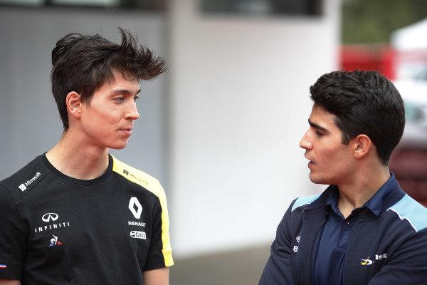 Jack Aitken (GBR, CAMPOS RACING) and Sergio Sette Camara (BRA, DAMS)