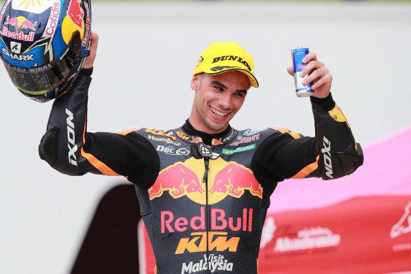 Podium: Race winner Miguel Oliveira, Red Bull KTM Ajo.