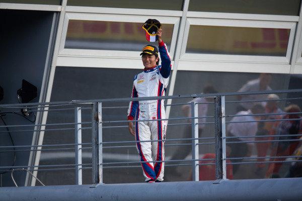 AUTODROMO NAZIONALE MONZA, ITALY - SEPTEMBER 07: Nobuharu Matsushita (JPN, CARLIN) during the Monza at Autodromo Nazionale Monza on September 07, 2019 in Autodromo Nazionale Monza, Italy. (Photo by Joe Portlock / LAT Images / FIA F2 Championship)