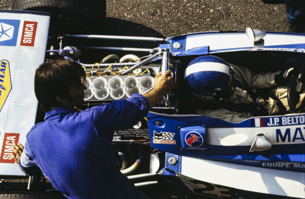 Jean-Pierre Beltoise, Matra MS120.