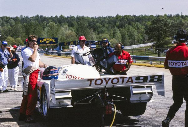 P. J. Jones, All American Racers, Eagle Mk III Toyota.