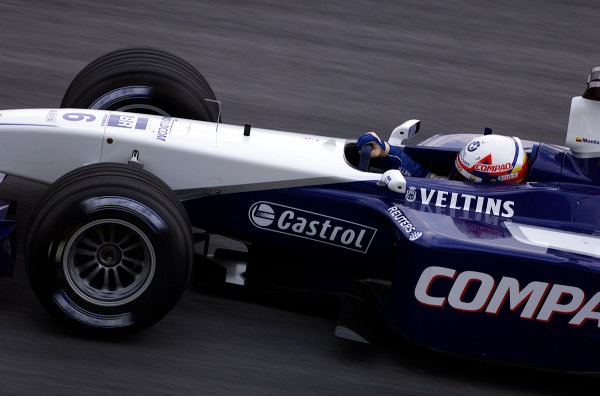 2001 Malaysian Grand Prix.Sepang, Kuala Lumpur, Malaysia. 16-18 March 2001.Juan-Pablo Montoya (Williams FW23 BMW).World Copyright - Steve Etherington/LAT Photographic.ref: 18mb Digital Image