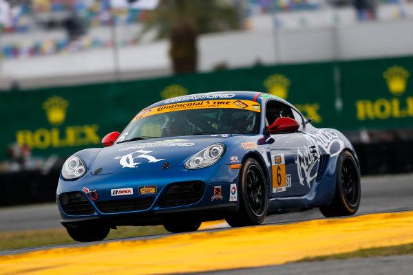 26-27 January, 2017, Daytona Beach, Florida USA 6, Porsche, Porsche Cayman, ST, Shane Lewis World Copyright: Jake Galstad/LAT Images