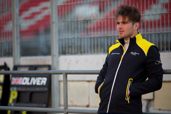Circuit de Barcelona Catalunya, Barcelona, Spain. Tuesday 14 March 2017. Oliver Rowland (GBR, DAMS). Photo: Alastair Staley/FIA Formula 2 ref: Digital Image 585A7920